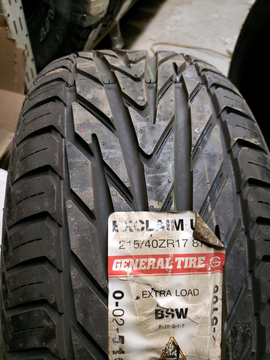 2 x P215/40R17 87W General Exclaim UHP