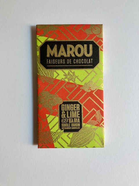 Marou Chocolate Ginger Lime 69%