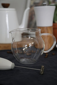 Milk Frother with Glass Jug