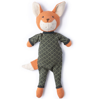 Hazel Village Reginald Fox in Leaf Cover Romper
