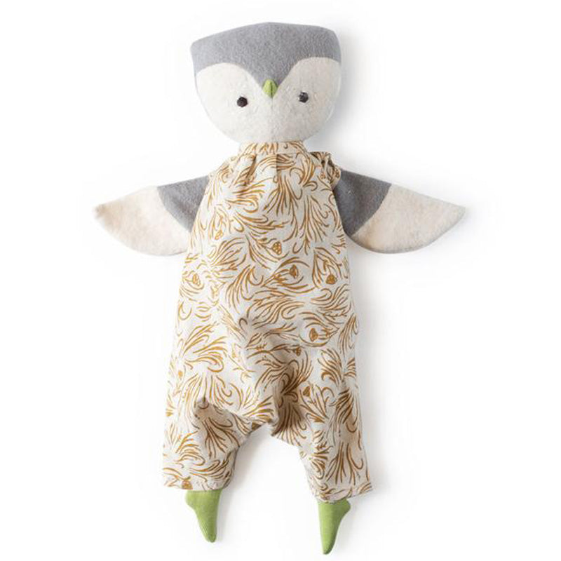 Hazel Village Organic Lucy Owl in Herb Meadow Coverall