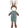 Hazel Village Organic Lucas Rabbit in Adventure Romper