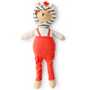 Hazel Village Organic Nicholas Bear Cub in Suspender Leggings Outfit