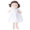 Hazel Village Organic Louise Doll in Snowy White Linen Dress