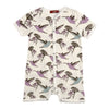 Milkbarn Organic Cotton Shortall Hummingbird