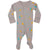 L'ovedbaby Organic Cotton Footie Surf Light Gray