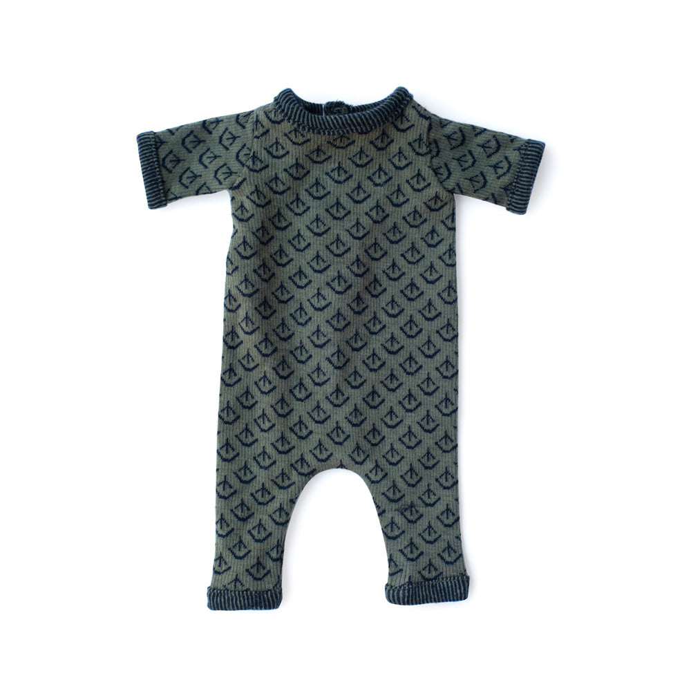 Hazel Village Leaf Cover Romper for Dolls