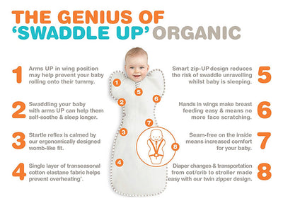 Love To Dream Organic Swaddle UP