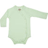Organic Baby Essentials Long Sleeve Bodysuit with Side Snaps Sage Green