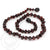 Momma Goose Baby Amber Teething Necklace Baroque - Dark Cherry