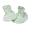Organic Baby Essentials Booties Sage Green