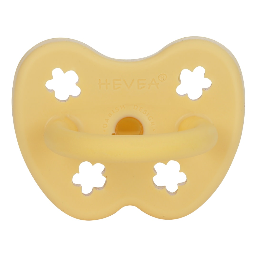 Hevea Natural Rubber Pacifier Banana (Orthodontic 3-36m)
