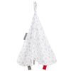 Cheeky Chompers Organic Muslin Comforter Silver Stars