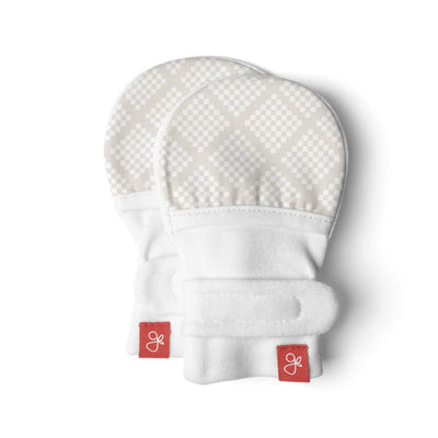 Goumikids Stay On Baby Mittens Diamond Dots