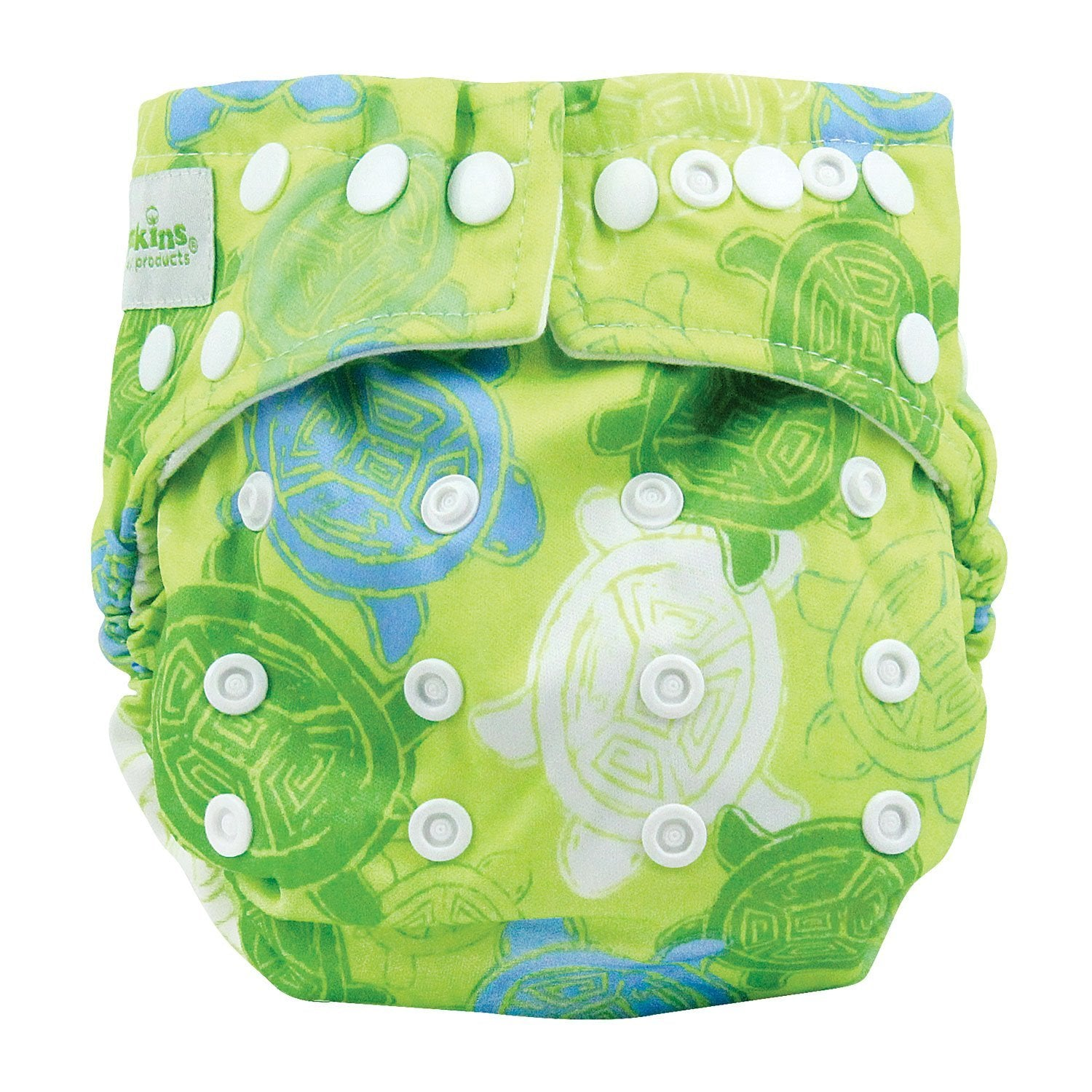 Bumkins Snap-in-One Cloth Diaper Turtles
