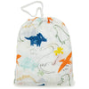Loulou Lollipop Bamboo Muslin Fitted Crib Sheet - Dinoland