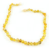 Healing Hazel Baltic Amber Baby Teething Necklace Honey 12-13""