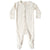 Quincy Mae Organic Full Snap Footie Ivory