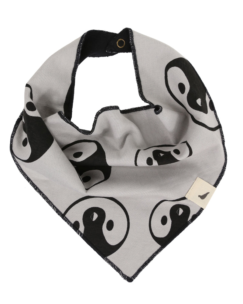 Turtledove London Organic Penguin Face/ X Marks The Spot Bib