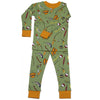 New Jammies Organic Cotton Long Sleeve Pajama Set Gone Fishing