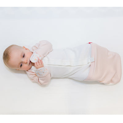 Goumikids Jamms Baby Gown Pink Drops