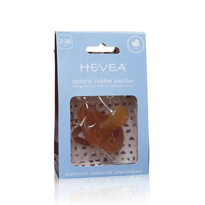 Hevea Natural Rubber Pacifier Ducks - Orthodontic 3-36m