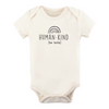 Tenth & Pine Organic Baby Short Sleeve Bodysuit - Human Kind Be Both