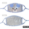 Kids Reusable Face Mask - Blue (5-8Y)