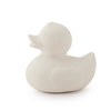 Oli & Carol Natural Rubber Bath Toy Elvis the Duck White