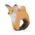 Oli & Carol Rob the Fox Bracelet Natural Rubber Teething Toy