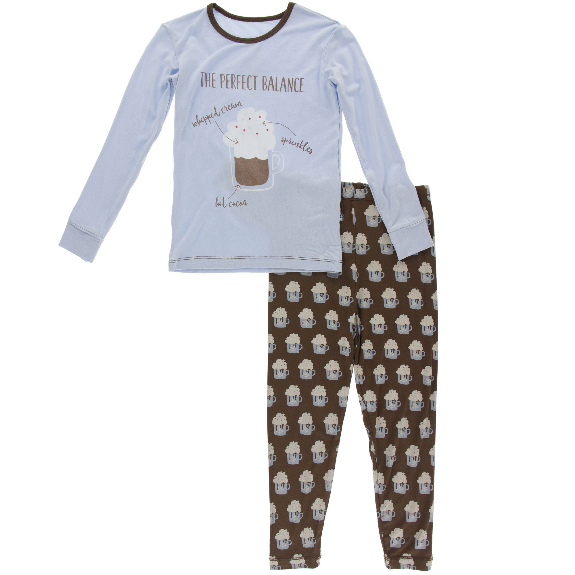 KicKee Pants Pajama Set - Hot Cocoa