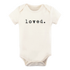 Tenth & Pine Organic Baby Short Sleeve Bodysuit - Loved