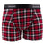 KicKee Pants Mens Boxer Brief - Holiday Plaid