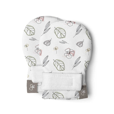 Goumikids Stay On Baby Mittens - Abstract Floral