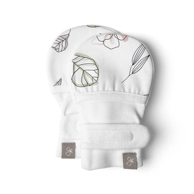 Goumikids Stay On Baby Mittens Abstract Floral