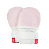 Goumikids Stay On Baby Mittens Pink Drops