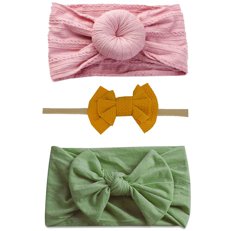 Emerson and Friends Mustard Spring Headband Gift Set
