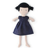 Hazel Village Organic Nell Doll in Navy Linen Dress