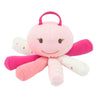 Under the Nile Organic Scrappy Toy - Pink Octopus