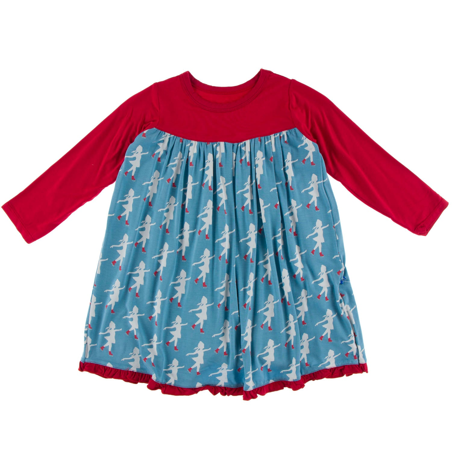 KicKee Pants Swing Dress - Blue Moon Ice Skater