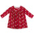 KicKee Pants Swing Dress - Crimson Kissing Birds