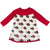 KicKee Pants Swing Dress - Natural Christmas Hippo