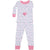 New Jammies Organic Cotton Long Sleeve Pajama Set Anchors Away Pink