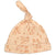 Silkberry Baby Organic Cotton Knot Hat Peach Fox