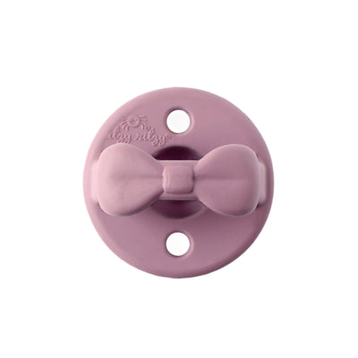 Itzy Ritzy Sweetie Soother Silicone Pacifier 2 Pack - Orchid