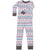 New Jammies Organic Long Sleeve Pajama Set Fair Isle