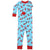New Jammies Organic Long Sleeve Pajama Set Winter Fox
