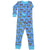 New Jammies Organic Long Sleeve Pajama Set Racing Cars