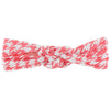 KicKee Pants Knot Headband - English Rose Houndstooth