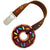 Silli Chews Mini Chocolate Donut Teether with Strap Set